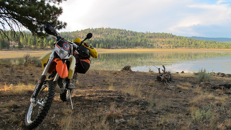 dual sport adventure camping